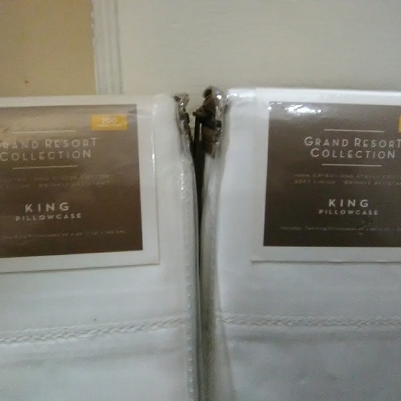 grand resort collection Other - Sets of 2 king size pillowcases